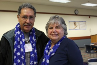 Richard Matt and Shirley Sickert