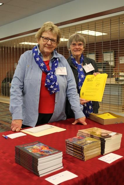 Sue Lyon and Sally Phelan